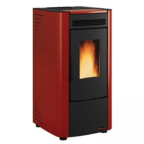 Extraflame 1280208 Ketty EVO Pelletofen Bordeaux/A+
