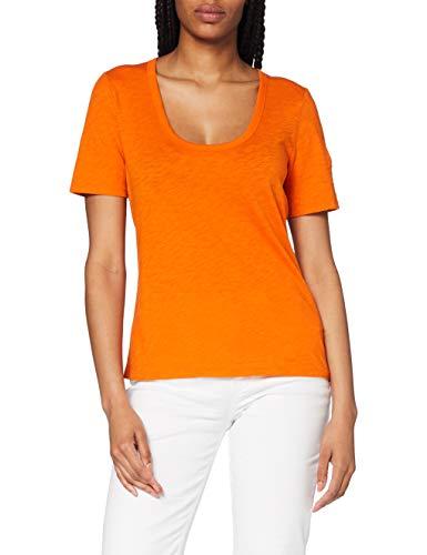Marc O'Polo 6215551305 Camiseta, Naranja (Sunbaked Orange 258), X-Small para Mujer