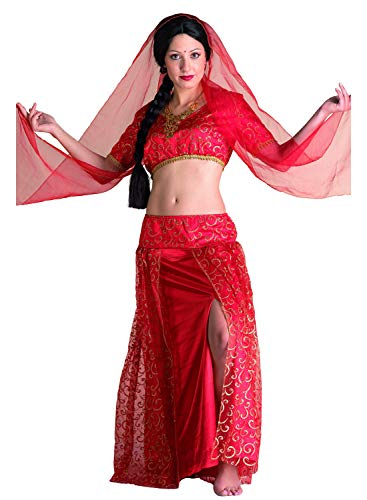 chiber - Disfraz Bollywood Rojo