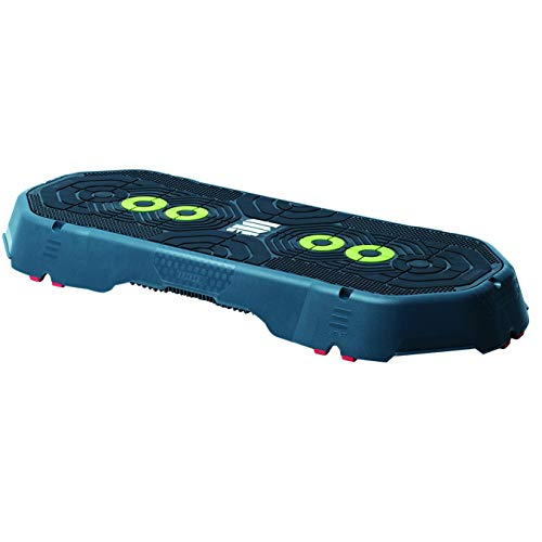Escape Fitness Anti Slip 4.5 Inch Tall Step Platform for a Variety of Aerobic, Cardio, and Plyos Workout Training Exercises