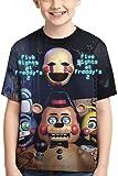 AMCYT Amacigana®Five Nights at Freddy's - Camiseta de manga corta para niño, multicolor, b, large