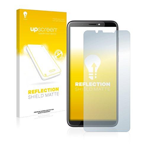 upscreen Entspiegelungs-Schutzfolie kompatibel mit HTC Desire 12 Plus – Anti-Reflex Bildschirmschutz-Folie Matt