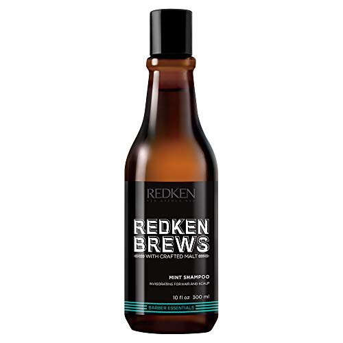 Redken brews man mint shampoo 300ml.