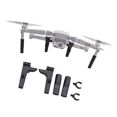 T TOOYFUL Kits de Extensión de Altura de Tren de Aterrizaje ABS para Dron dji Mavic 2
