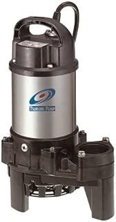 Tsurumi 3PN (50PN2.25S) 1/3hp, 115V, Submersible Pond & Waterfall Pump, Stainless Steel, 3540 GPH. 2