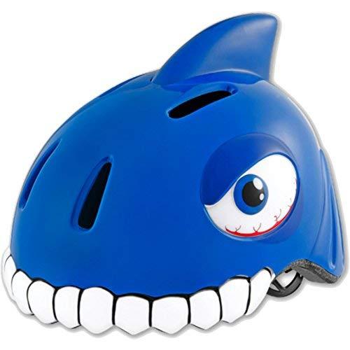 Kaiser24 Kinder-Fahrrad-Helm (Hai blau)