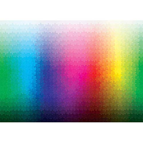 Puzzle arcobaleno CMYK Mille sfumature 1000 pezzi Puzzle per adulti sfida di difficoltà arcobaleno infernale
