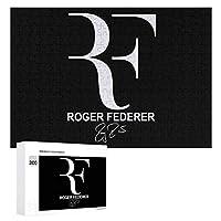 ロジャー フェデラー ペンケース 300ピースのパズル木製パズル大人の贈り物子供の誕生日プレゼント