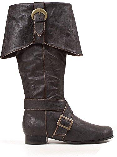 Ellie Zapatos Inc Botas de Hebilla de Pirata para Hombre