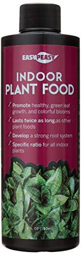 Liquid Indoor Plant Food, All-Purpose Indoor Plant Fertilizer, Liquid Plant Food, Easy Peasy Plants House Plant Fertilizers 4-3-4 Plant Nutrients, House Plant Food | Lasts Same as 16 oz Bottle