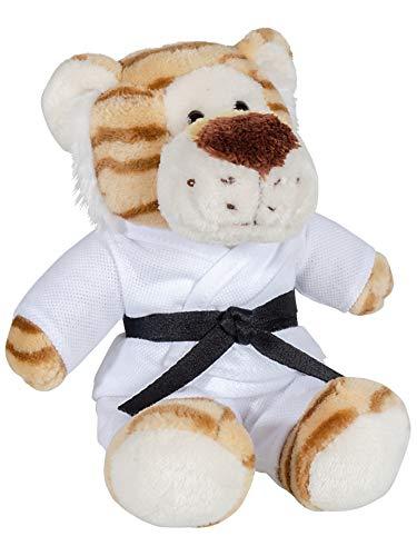 Kwon Plüschtiger Joe Plüschtier Tiger Teddy Bär Karate Kampfsport Maskottchen Kickboxen Geschenk