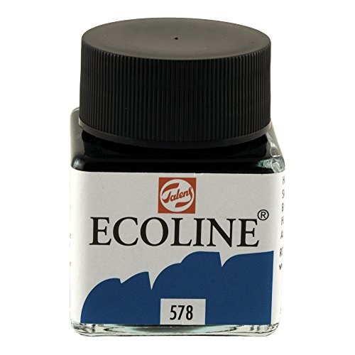 Ecoline - Fluessige Wasserfarbe - 30 ml - Himmelblau Cyan