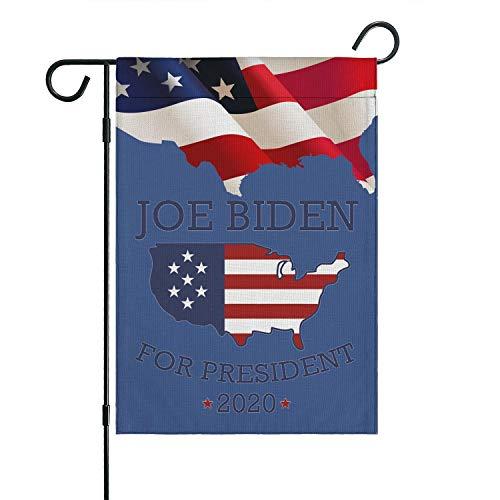 SLHOIUEWCV Joe Biden Fade Proof Garden Flag Designs Outdoor Flag Yard Outdoor Decor 12.5 ¡Á 18 Inch