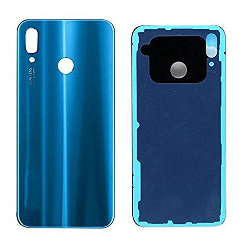 """Draxlgon Sostituzione per Huawei P20 Lite Ane-LX2 ANE-L22 Ane-LX1 ANE-L21 ANE-LX3/Nova 3e 5.84"""" Coperchio della Batteria in Vetro Custodia Posteriore (Blu)"""