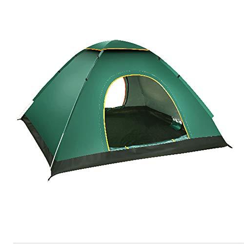 Tents Ouverture Rapide instantanée 2 Personnes, Coupe-Vent imperméable, imperméable légère extérieure Pliable UV comme Sun Shelter pour Jardin Familial/Camping/pêche, 200x150x120cm
