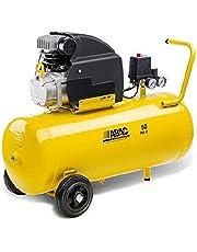 ABAC 9721314 Compressore Aria 50 lt Montecarlo B20 Baseline, amarillo