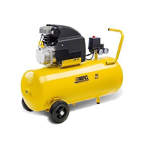 ABAC 9721314, Compressore Aria 50 l, Montecarlo B20 Baseline, Giallo