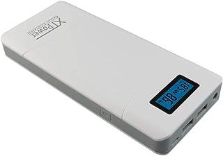 XTPower® XT-20000QC3 Power Bank - modern DC/USB QC3-batteri med 20100 mAh - USB, QC 3.0 och DC-anslutning på 12 V, 15 V, 1...