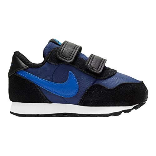 Nike MD Valiant (TDV), Chaussure de Piste d'athltisme Garçon Unisex Kinder, Blue Void Signal Blue Black White, 23.5 EU