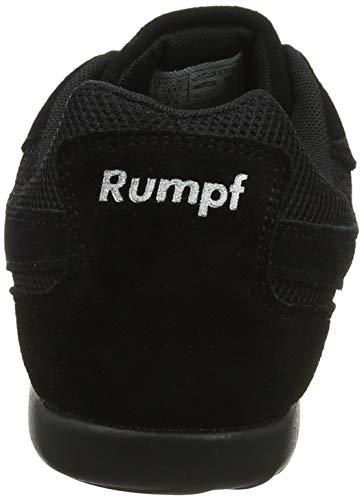 Rumpf Dance Sneaker Jive Tanzschuhe Tanzen Damen Sport Fitness schwarz 41 - 3