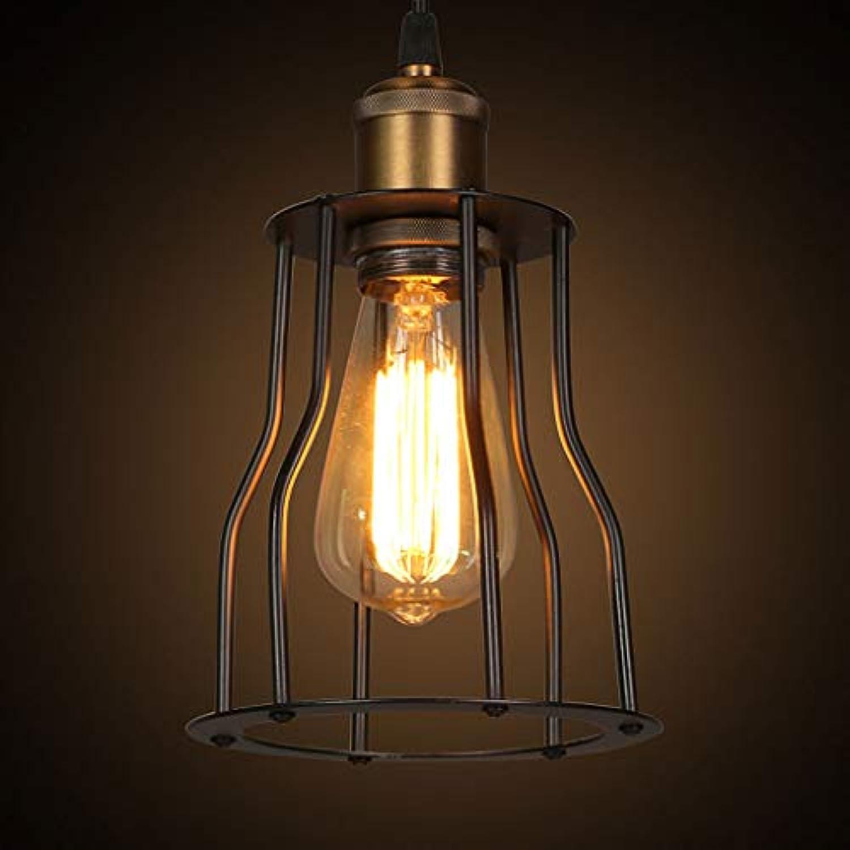 YS&VV LED Pendelleuchte HngeLampe kronleuchter Deckenleuchte Hhe 1,2 mt Einstellbar für Restaurant Hotel Wohnzimmer Hngeleuchte Warmes Licht Beleuchtung, Gre  15  15  23 cm (E27) (Schwarz)