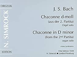 Chaconne in d minor orgue