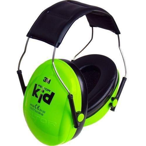 XDrum Peltor Gehoorbescherming voor kinderen van 2-7 jaar, geluidsniveau tot 98 dB, zeer licht