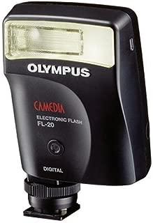 Olympus FL-20 Electronic Flash for SP series, C5000, C750, C770, C5060, C7070, C8080, E1, E300 & E500 Cameras