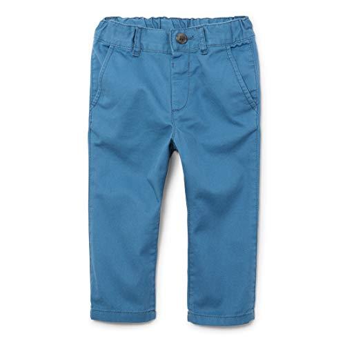 The Children's Place Boys' Toddler Skinny Chino Pants, Bluestone, 3T
