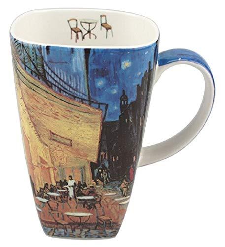 McIntosh Vincent Van Gogh Cafe Terrace At Night Fine Bone China (19.6 oz) Grande Mug in Matching Gift Box