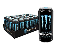 UNLEASH THE BEAST | Tear into a can of the meanest energy drink on the planet, Lo-Carb Monster Energy. Athletes, musicians, anarchists, co-ed's, road warriors, metal heads, geeks, hipsters, and bikers dig it- you will too. SMOOTH & EASY FLAVOR | Lo-C...