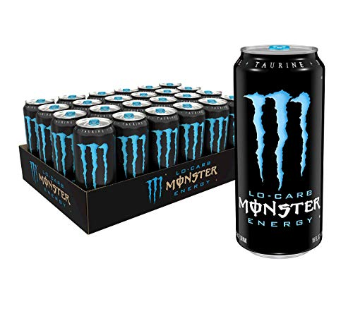 Monster Energy LoCarb Monster Low Carb Energy Drink 16 Ounce Pack of 24