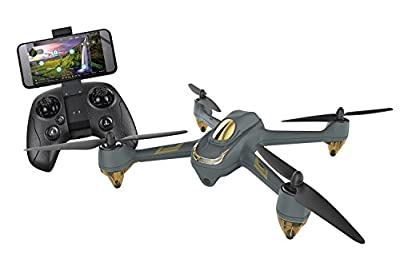 XciteRC HT009 Hubsan X4 FPV Brushless Quadcopter RTF Drone with App, 720p Camera, GPS, Follow-Me, Waypoints, Battery, Charger and Remote Control H501M, Gray by Hubsan