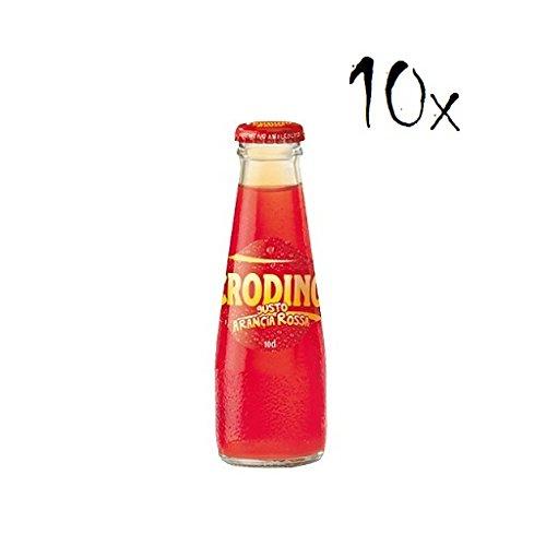 10x San pellegrino Crodino arancia rossa rot orange 100 ml Aperitif bitter