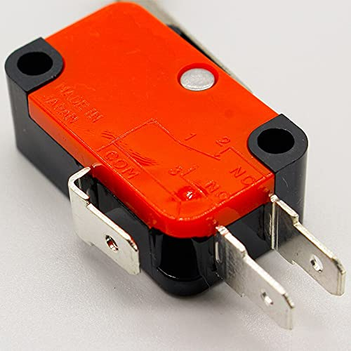 KIMLLOYD IMC Hot 10 Pcs Micro Limit Switch Long Hinge Roller Lever Arm Snap Action LOT
