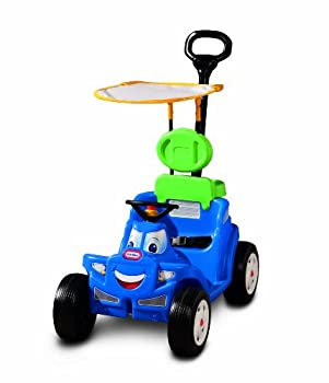 Little Tikes Deluxe 2-in-1 Cozy Roadster Colorful 45.50  L x 17.00  W x 37.75  H