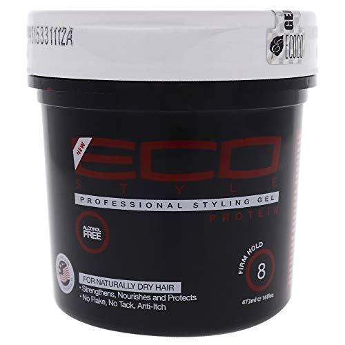 ECO Firm Hold Protein Styling Gel, 16 Ounce