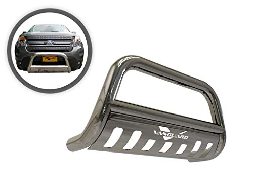 VGUBG-0952SS Stainless Steel Classic Bull Bar compatible with 11-19 Ford Explorer