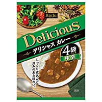 ハチ食品 デリシャスカレー 中辛 (170g×4袋)×12個入×(2ケース)