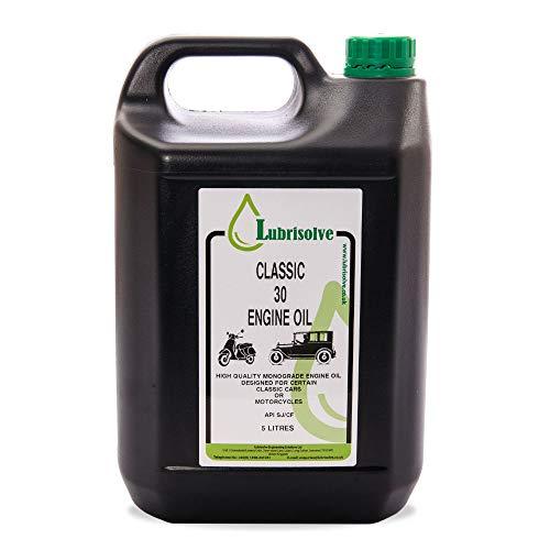 Lubrisolve Classic SAE 30 Motorolie (5 liter)