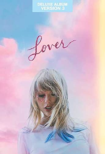 Taylor Swift - Lover - CD Deluxe Album Version 3