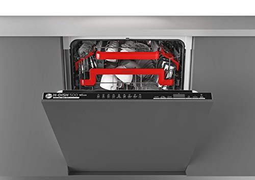 Hoover - Lavastoviglie H-DISH 500 HRIN 2D522PB, full-integrated, 15 coperti, classe efficienza energetica A++