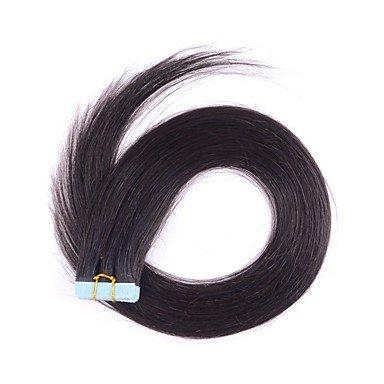 MZP bande / PU / extension de cheveux de la peau avec les cheveux brazilian cutile 2.5g par brin , 24 inch