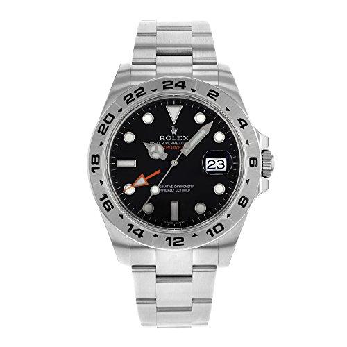 Rolex Oyster Perpetual Explorer II Mens Watch 216570-BLK