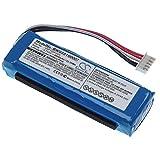 vhbw Batería Compatible con JBL Charge 3 (2016) Bluetooth Altavoz, reemplaza GSP1029102A - (polímero de Litio, 6000mAh, 3.7V) - Batería de Repuesto