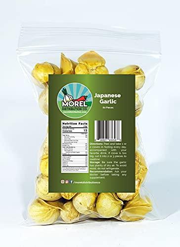 Japanese Garlic//AJO Japones (100% Natural!!) Choose Your Count per Bag: (30-60-130-150-250-400) (60)