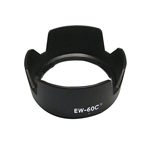 LXH Replacement EW-60CII Tulip Flower Shade Lens Hood Compatible with Canon EF-S 18-55mm f/3.5-5.6 is/EF-S 18-55mm f/3.5-5.6 is II/EF-S 18-55mm f/3.5-5.6 USM EF-S 18-55mm f/3.5-5.6 II USM