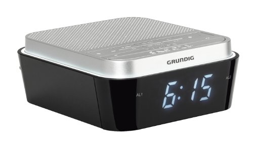 Grundig Sonoclock 920 Radiowecker mit Wake-up Light silber