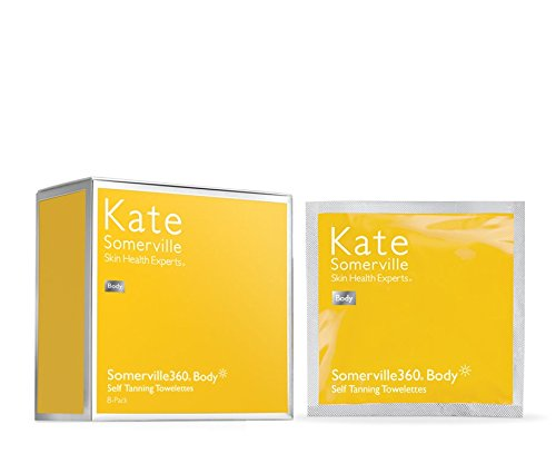 Kate Somerville 360 Face And Body Self Tanning Towelettes, 8 Count