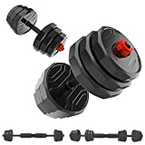 MALELION Dumbellsweights Set, 20kg/30kg Weights Dumbbells Set for Men and Women Suitable for Home Fitness or Gym